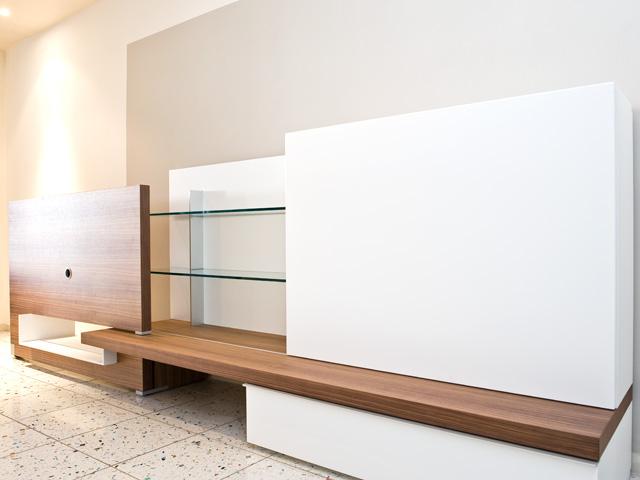 soggiorno former modello plinto canaletto - Soggiorno Noce E Bianco